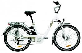 Vélo électrique monty E48 Blanc