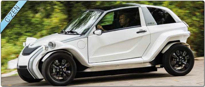 voiture électrique czen